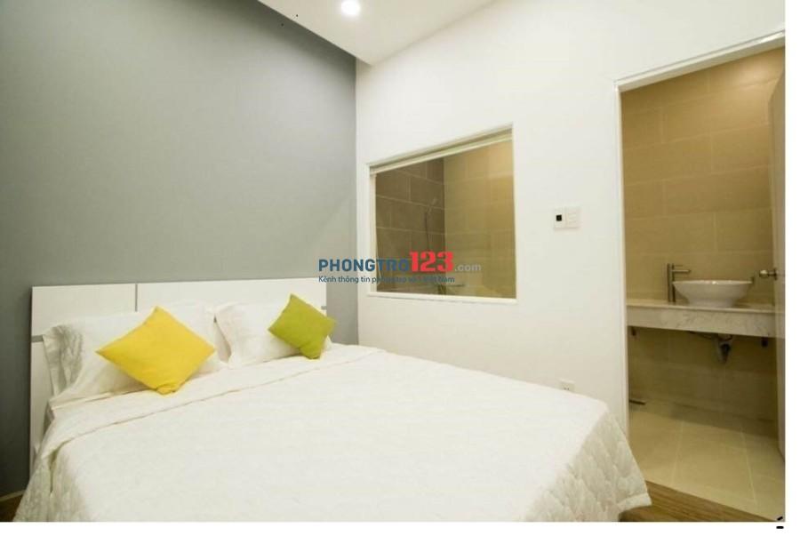 Căn hộ 1PN full nội thất, sạch sẽ, thiết kế hiện đại ngay Quận 1