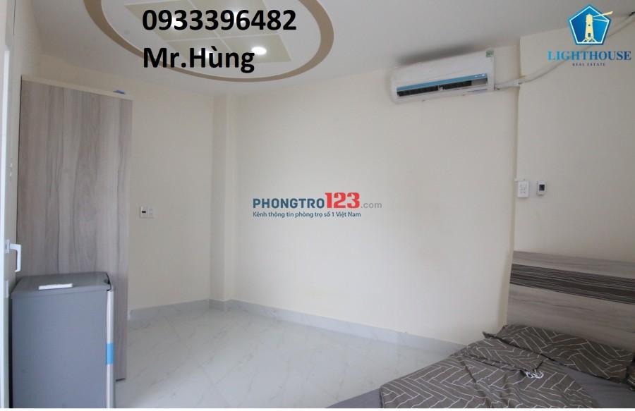 Phòng cao cấp Full nội thất gần D2, Đường Ung Văn Khiêm, có thang máy, ban công
