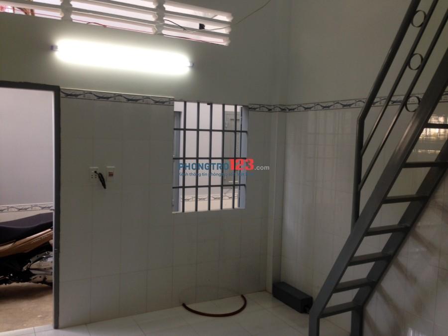 Cho thuê phòng trọ máy lạnh mới xây 22m2