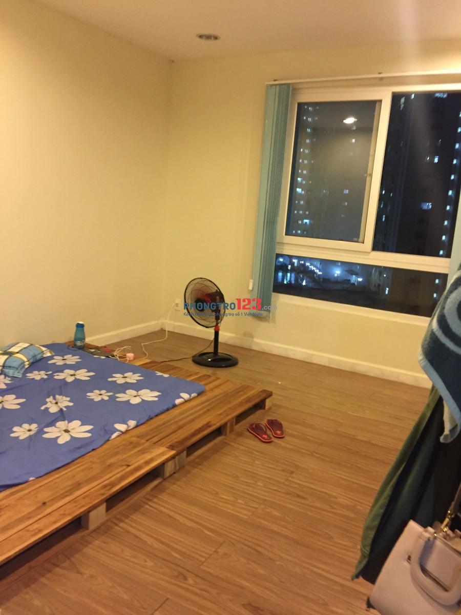 Cho thuê phòng master trong căn hộ 2pn, quận 8, full nội thất