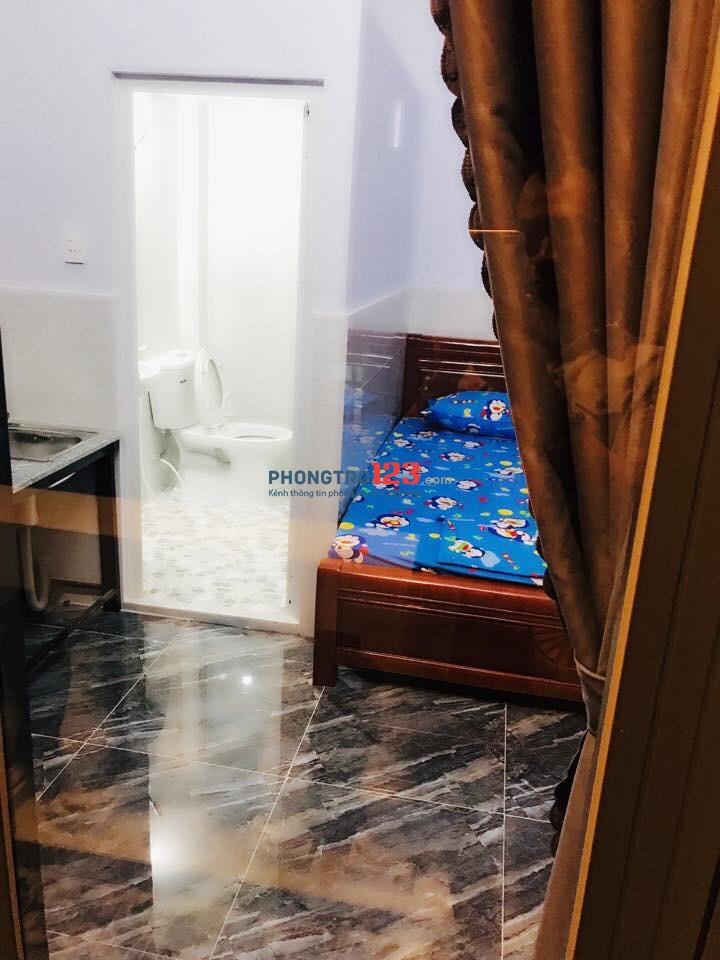 Cho thuê phòng trọ đầy đủ nội thất, mới xây sạch sẽ an toàn Quận 7