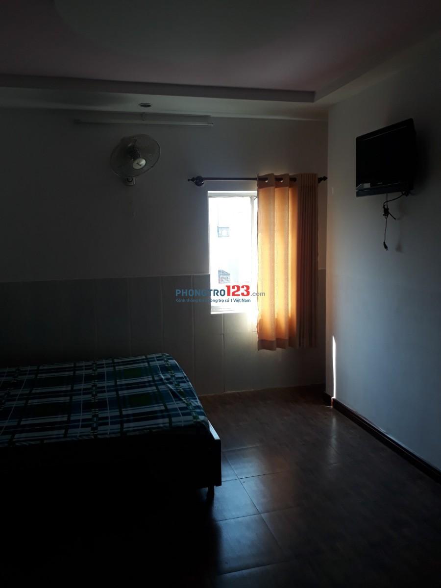 Căn hộ chung cư cho thuê có nội thất phường 15, Tân Bình