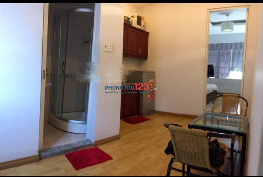Cho thuê căn hộ full tiện ích Hẻm 818 Xô Viết Nghệ Tĩnh, Q.Bình Thạnh. LH Ms Thủy