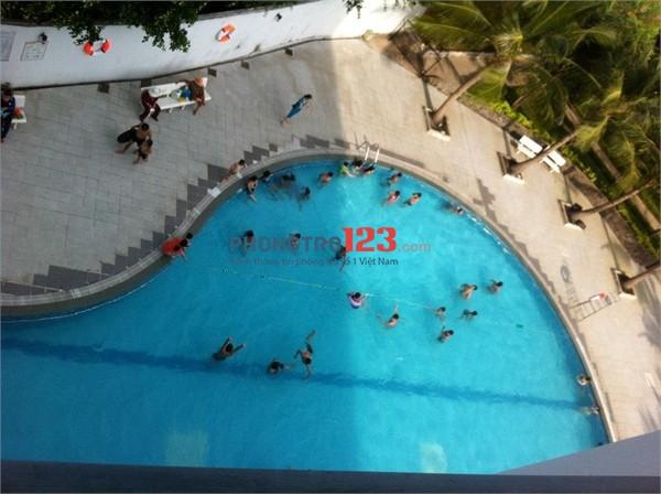 Chị mình cho thuê căn hộ 4S Riverside Garden có 2 phòng ngủ, 2WC, diện tích 87m2, View Sông Mát Mẻ