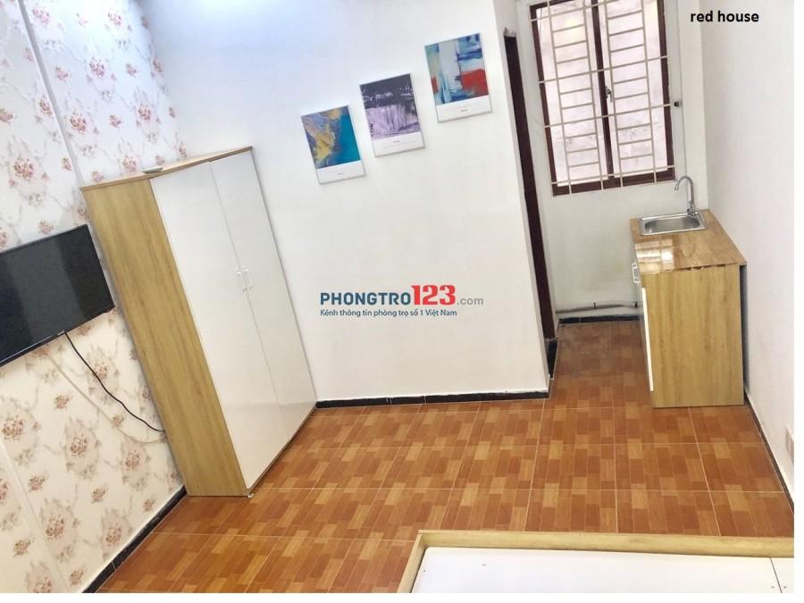 Phòng 20m2 mới, đẹp tiện nghi đầy đủ CMT8, Q.10, giá chỉ 4,5tr/tháng