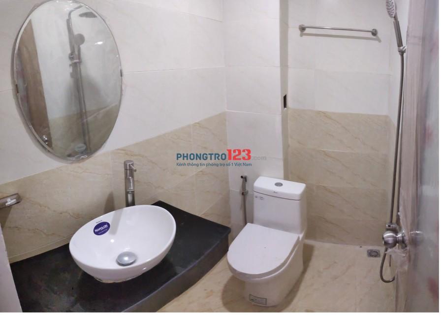 Phòng cho thuê 30m2 có ban công, full nội thất đường D2, quận Bình Thạnh