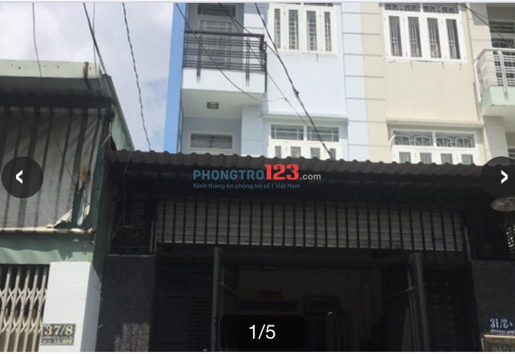 Cho thuê nhà nguyên căn 3 lầu hẻm xe hơi tại Đường 44, P.14, Q.Gò Vấp. LH Ms Hiền