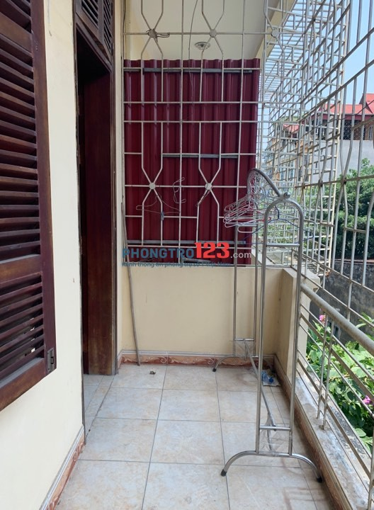 Cho nữ thuê phòng trọ ngõ 29 Khương Hạ, Khương Đình, Thanh Xuân, Hà Nội (có điều hòa, nóng lạnh, máy giặt)
