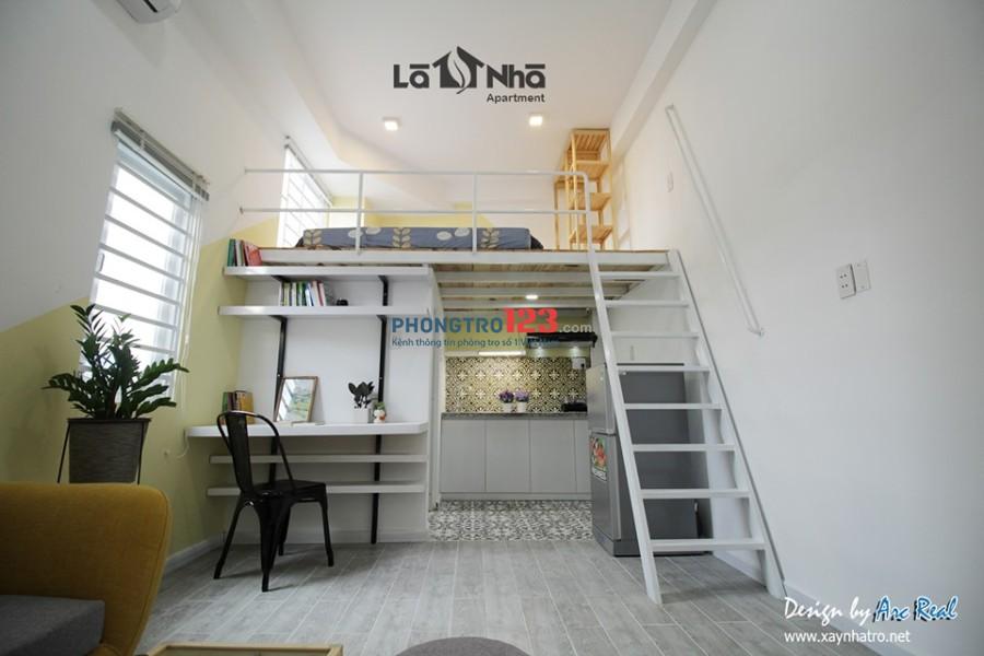 Phòng có mới có gác, full nội thất đường Nơ Trang Long, quận Bình Thạnh