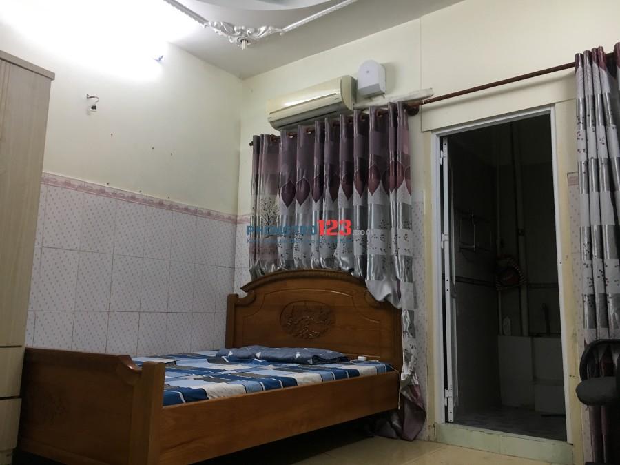 Phòng cho thuê full nội thất quận 10 gần cv Lê T Riêng