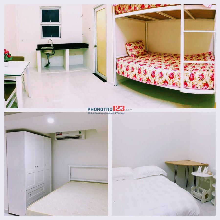 Cho thuê phòng đủ tiện nghi, thoáng đãng, yên tĩnh tại Phường 1, Q.Bình Thạnh, 5p qua Quận 1