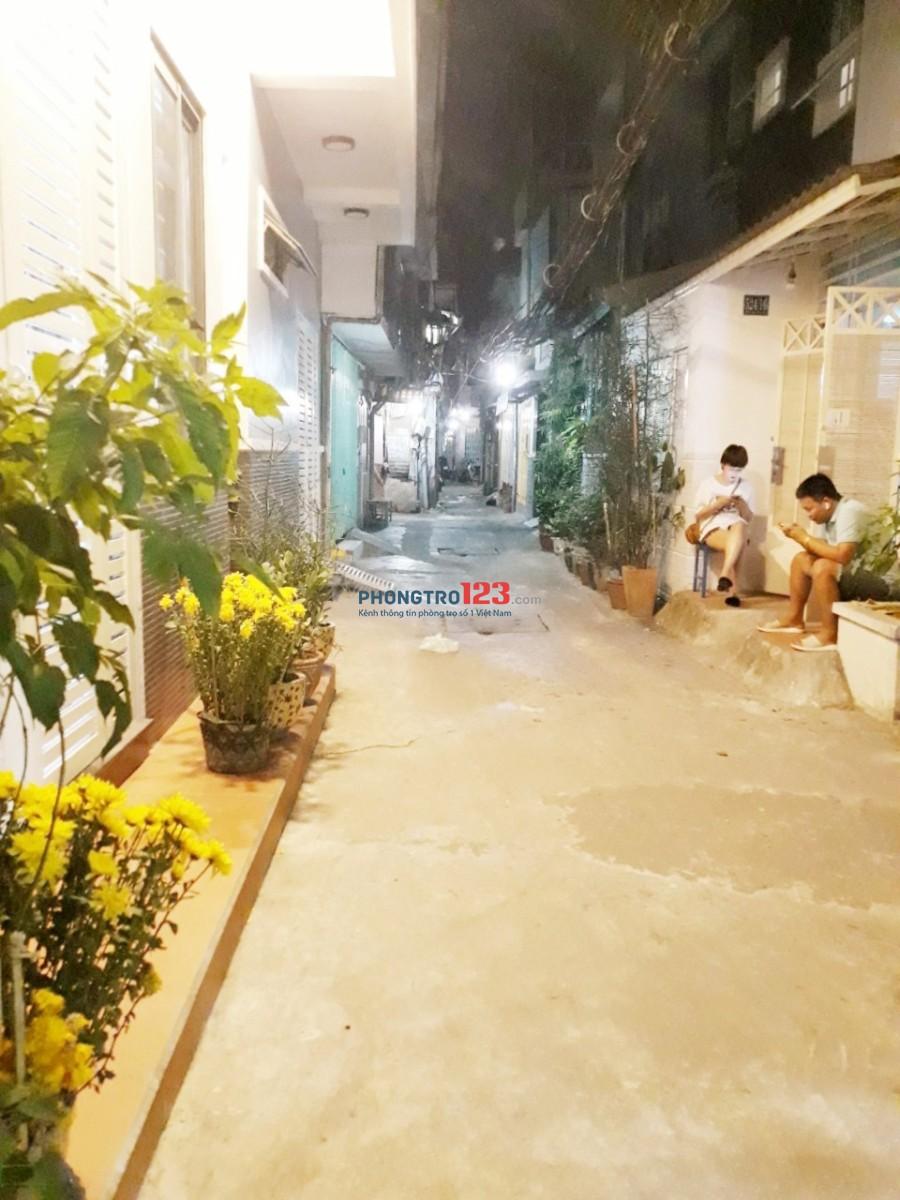 Cho thuê nhà HXH 524/16/11 Nguyễn Đình Chiểu, Q.3 (thông cư xá Đô Thành) 1Tr1L2PN