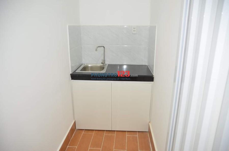 Cho thuê căn hộ mini full nội thất, bếp riêng Quận 3, gần cầu công lý