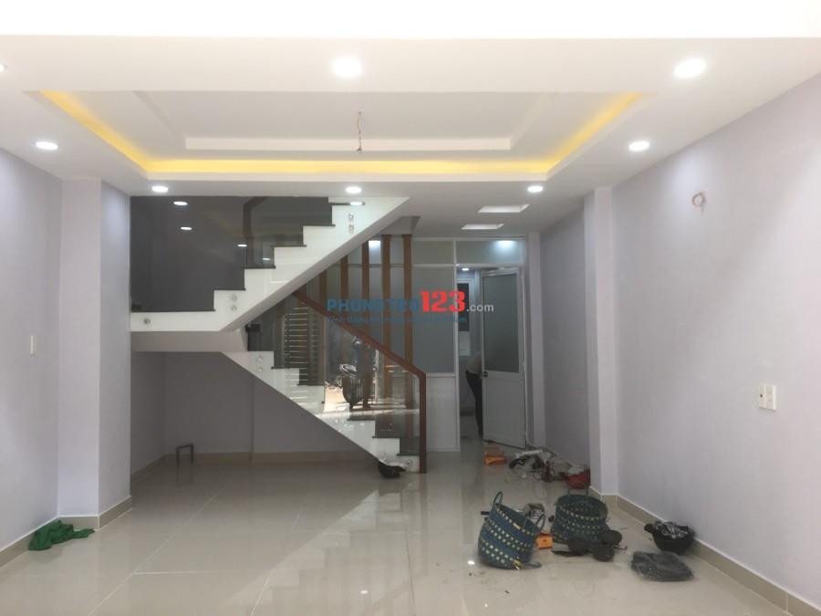 Phòng mới xây full nội thất, có bếp nấu ăn, WC riêng ở Điện Biên Phủ, Bình Thạnh, giá 7.5 tr/th