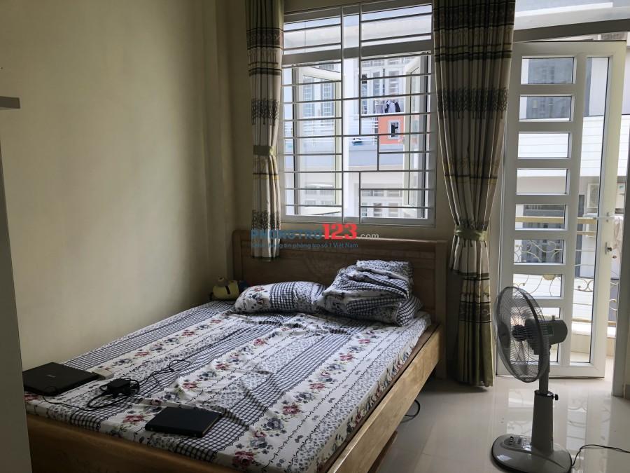 Cho thuê phòng trọ Gò Vấp đầy đủ nội thất, sạch sẽ, an toàn có máy lạnh