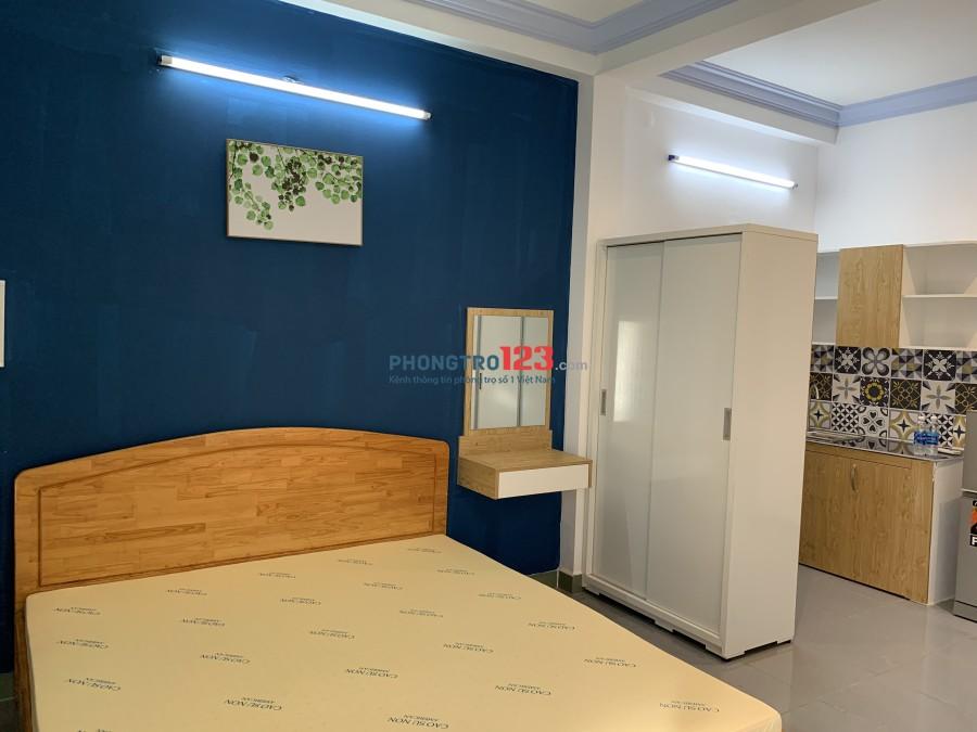 Phòng mới đẹp dạng căn hộ mini full nội thất có bếp (ngay Phạm Văn Hai)