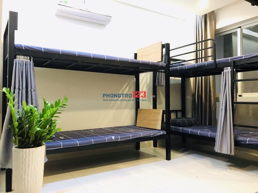 Phòng trọ giường tầng full nội thất giá rẻ quận Bình Thạnh