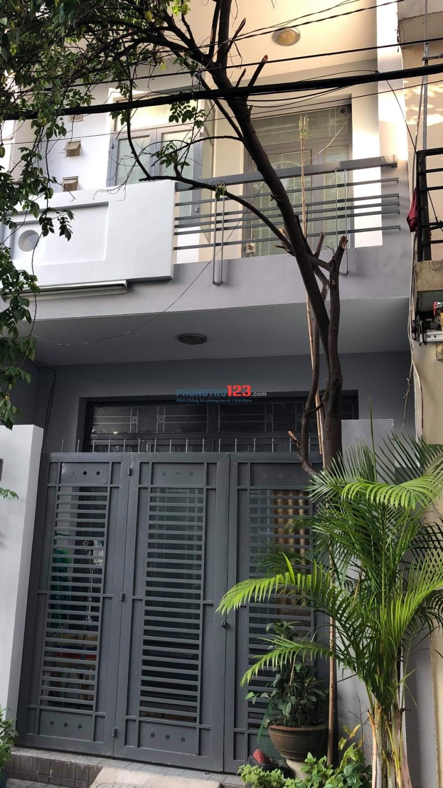 Cho nữ thuê phòng máy lạnh sạch sẽ an ninh, Phường Tân Thành, Quận Tân Phú
