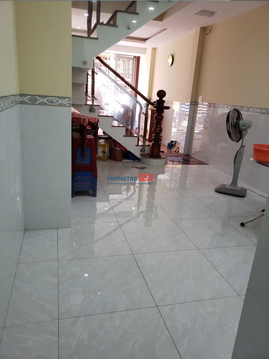 Cho thuê mặt bằng tầng trệt làm văn phòng, kinh doanh có toilet riêng