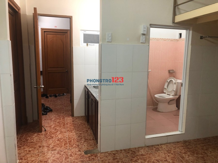 Cho thuê phòng trọ quận Tân Bình, có gác lửng 35m2 không chung chủ