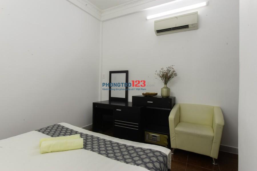 Phòng cho thuê cao cấp ngay trung tâm quận 1, gần chợ Bến Thành
