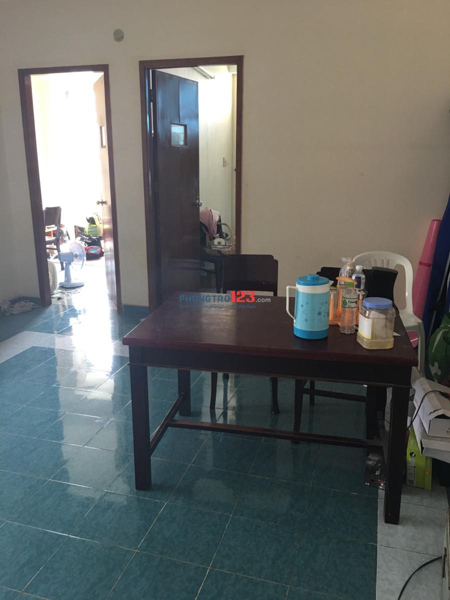 Tìm 1 bạn ở ghép chung cư Tân Hưng Tổng chi phí 1,7tr/ tháng. Nhà hiện có 3 bạn