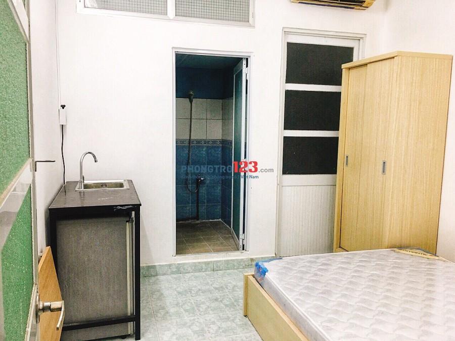 Căn hộ mini, full nội thất, tiện nghi, yên tĩnh, an ninh