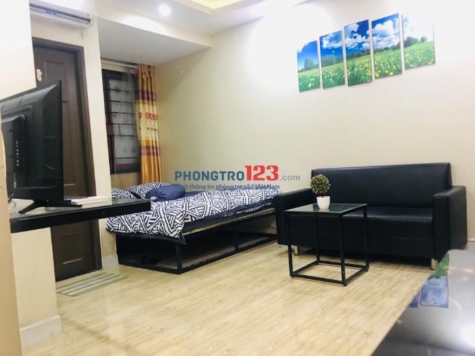 Căn hộ cho thuê 30m2, nội thất đầy đủ tiện nghi sang trọng Nguyễn Thị Minh Khai, Q.3