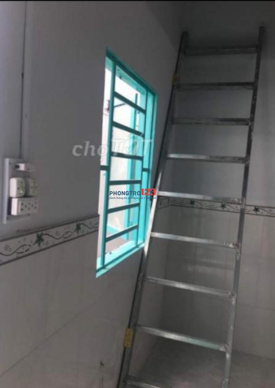 Cho thuê phòng trọ mới xây Hẻm 35 Nguyễn Văn Quỳ
