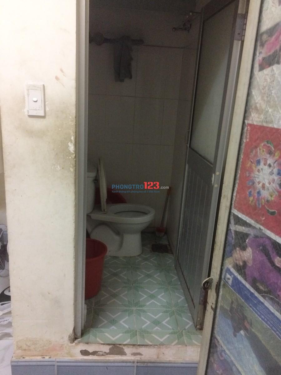 Cho thuê phòng trọ Tân Bình 12m2, giá 2.2 triệu/tháng. Phòng sạch sẽ, có gác, lan can, không chung chủ. Đảm bảo an ninh