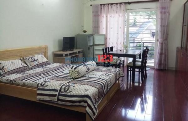Phòng cho thuê chính chủ có nội thất - 30m2, đường Chu Văn An, Bình Thạnh