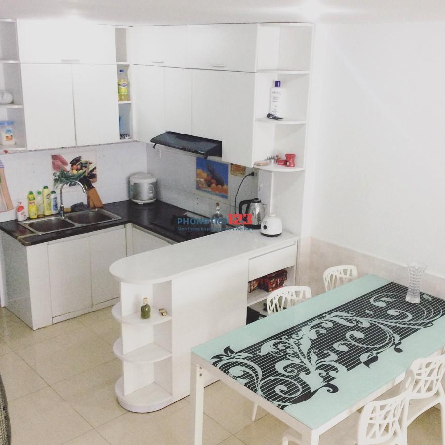 Cho thuê nguyên căn 4PN, nhà mới đầy đủ tiện nghi, ngay Lotte quận 7