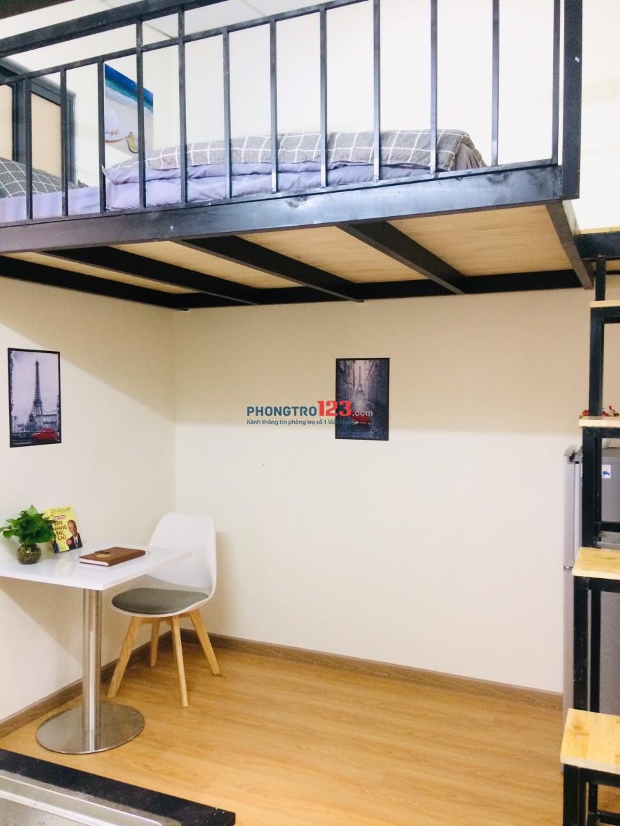 Phòng cho thuê mới xây, ful nội thất, đường Phan Văn Trị, Q.Bình Thạnh