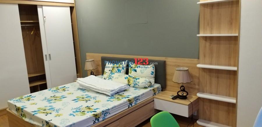 Chính chủ cho thuê phòng căn hộ FULL nội thất cao cấp, an ninh, tự do giờ giấc ngay vòng xoay 3/2