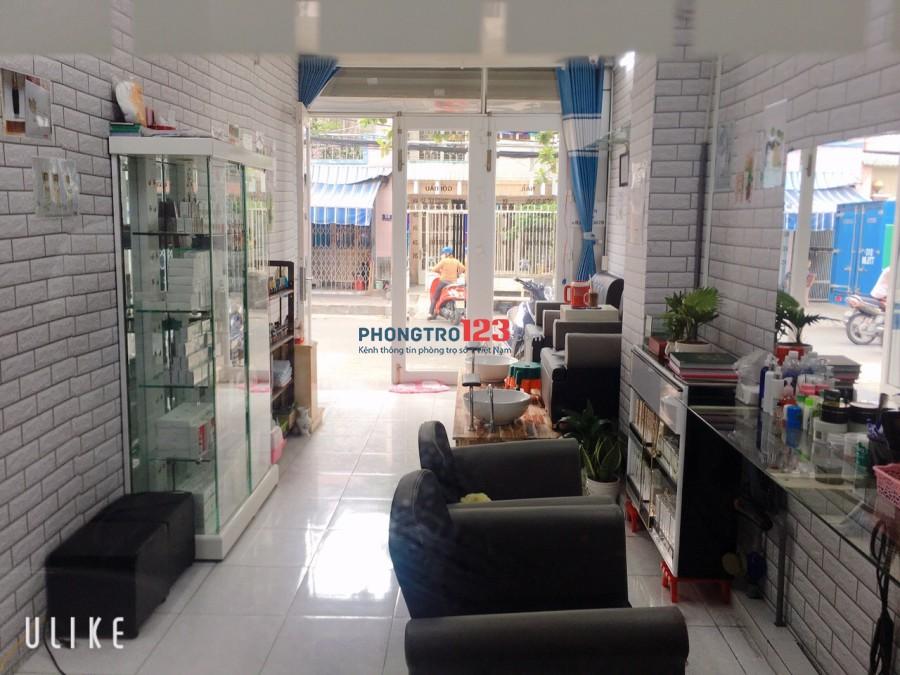 Cần cho thuê mặt bằng làm nails, spa, văn phòng công ty có thể ở lại quận Bình Tân