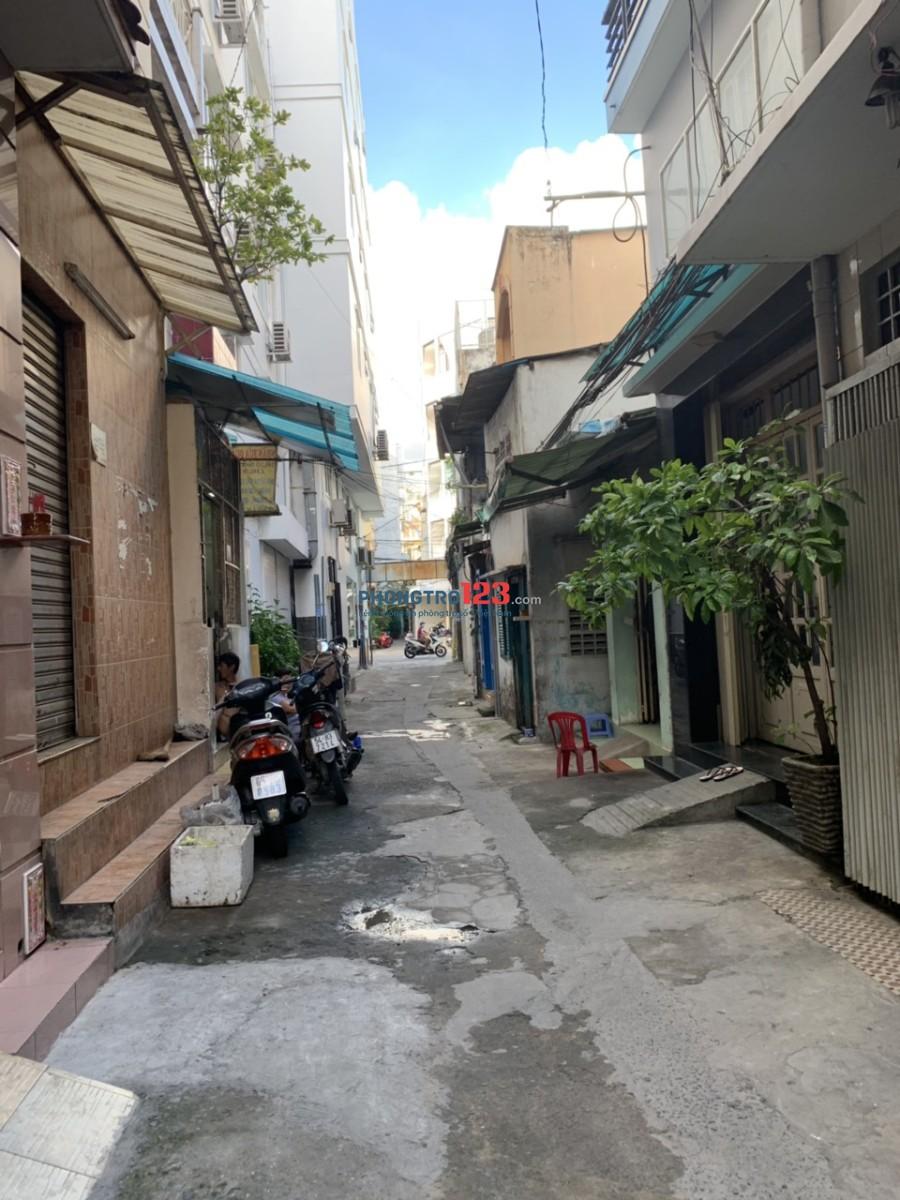 Cho thuê nhà NC mới HXH 133/16 Huỳnh Mẫn Đạt, Quận 5, 4x12m, trệt, 2L, 5PN, 3WC, 21 triệu/th