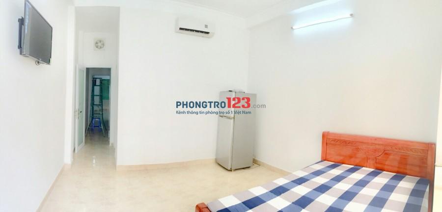 Phú Nhuận cho thuê căn hộ DV 28m2, đầy đủ nội thất, Free nước, net, cáp, giờ tự do, bảo vệ