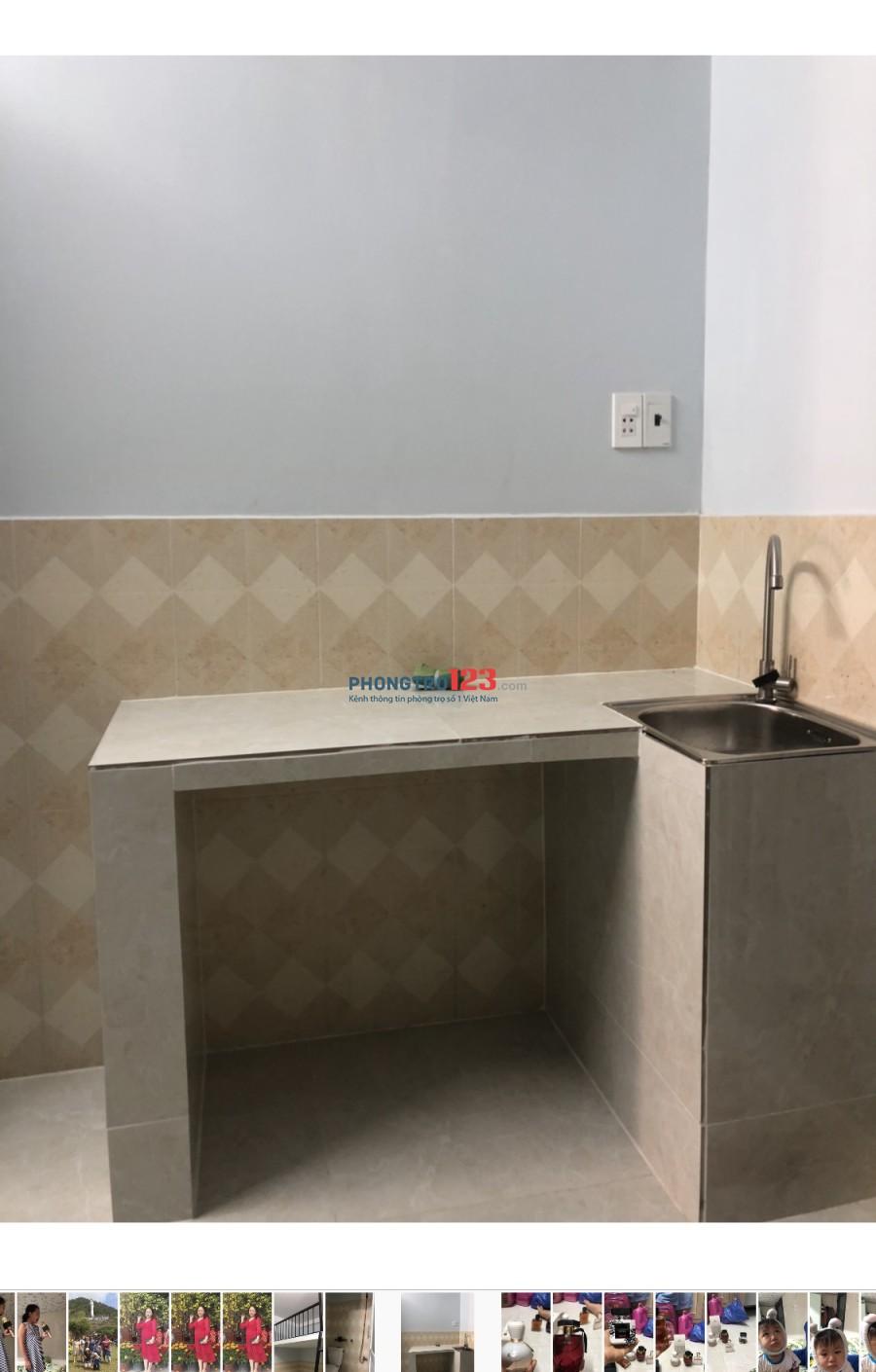 Cho thuê phòng trọ quận Tân Phú, phòng mới 100%