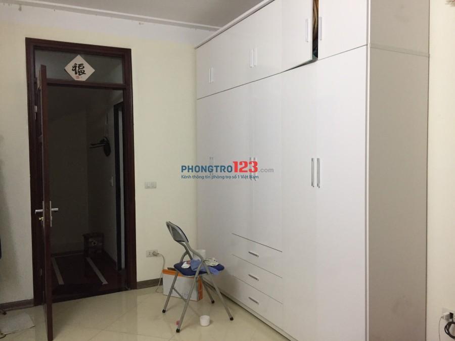 Cho thuê phòng rộng đẹp riêng tầng điều hòa nóng lạnh