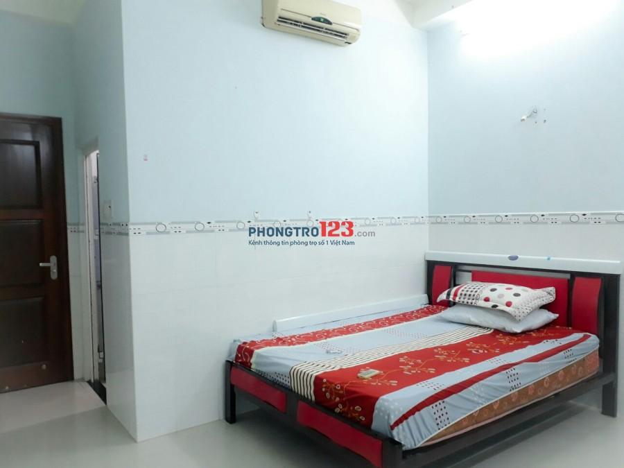 Phòng trọ Tân Định, Full nội thất, Free nước net cap, thang máy, ban công. Giá 4tr5