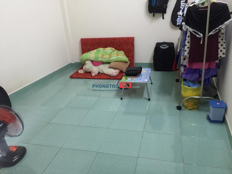 Cho nữ thuê phòng gần chợ Phạm Văn Hai, giờ giấc tự do