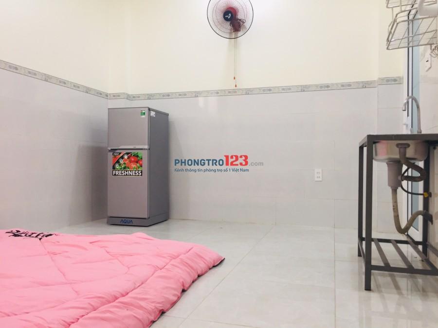 Phòng cho thuê cao cấp mới xây gần Trường ĐH Công Nghiệp Thực Phẩm, có bếp, khu an ninh