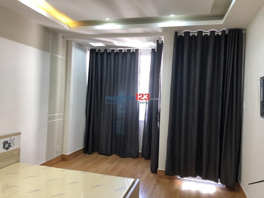 Phòng mới đẹp full nội thất có bếp hẻm xe hơi yên tĩnh ( phú nhuận )