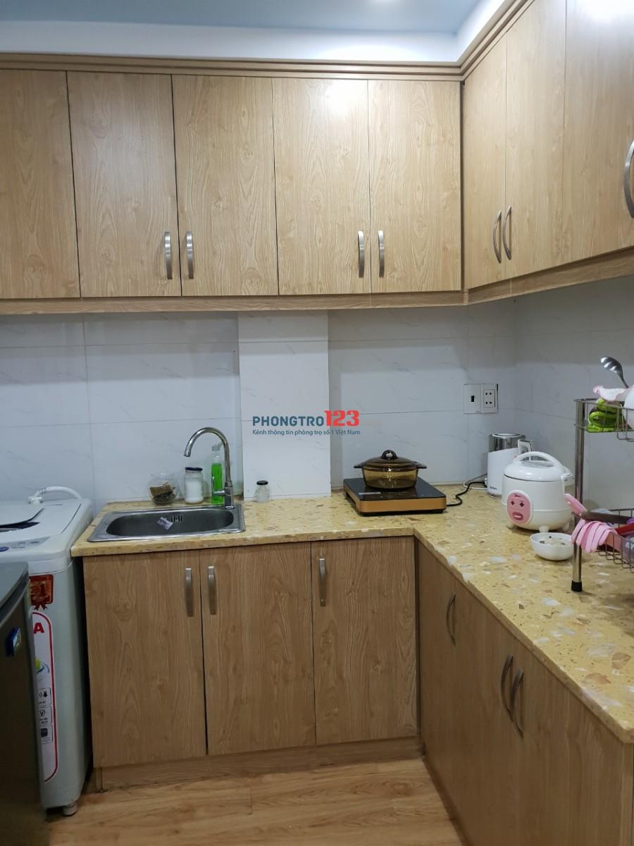 Cho thuê 1 phòng trong căn hộ đầy đủ tiện nghi như khách sạn tại 81 Bưng Ông Thoàn, Phú Hữu, Quận 9