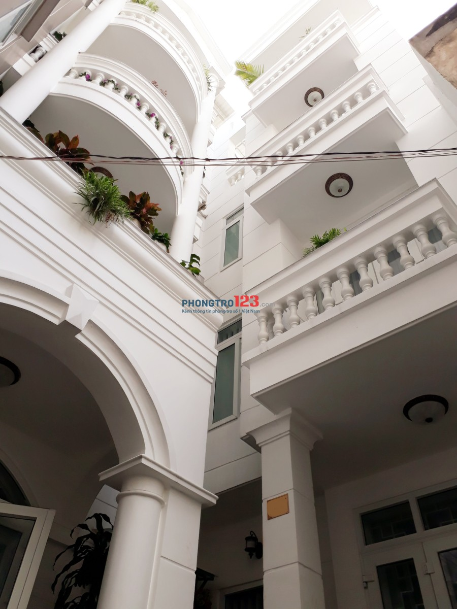 Cho thuê phòng CHDV Phú Nhuận mới đủ nội thất gần chợ gần Q1
