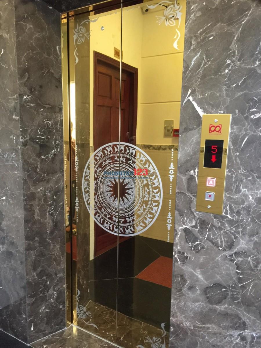 Phòng đẹp 20m2 full nội thất, có thang máy tại Đoàn Văn Bơ Q4 giá 5tr