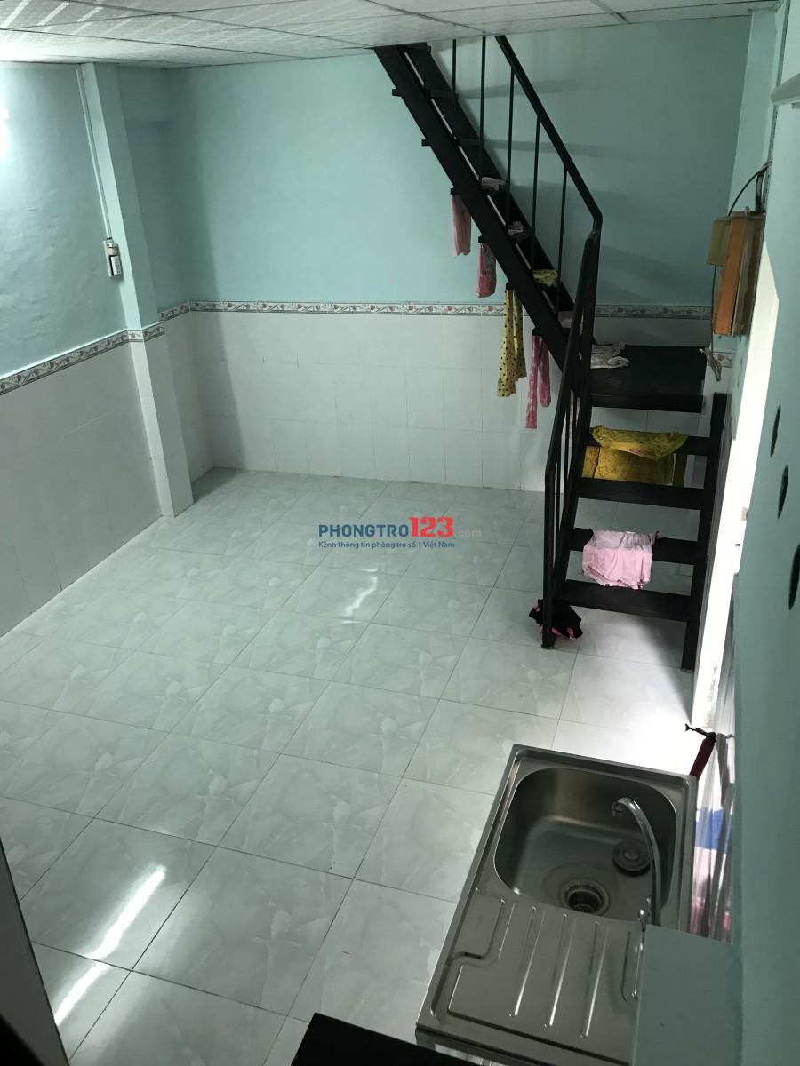 Cho thuê nhà nguyên căn P.14, Q.8 40m2 điện nước gốc