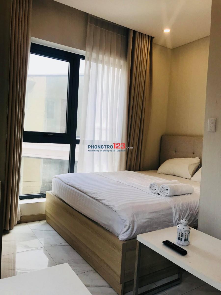 Cho thuê căn hộ 1PN cao cấp 40m2, 12tr5 ngay chợ Tân Định, Hai Bà Trưng, Q.1