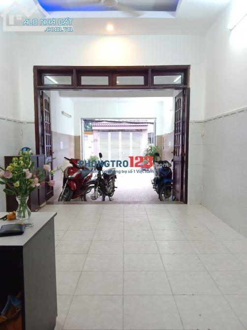 Mặt bằng cho thuê Nguyễn Oanh 4x20 1PN1WC cầu thang cuối nhà mới sơn sửa