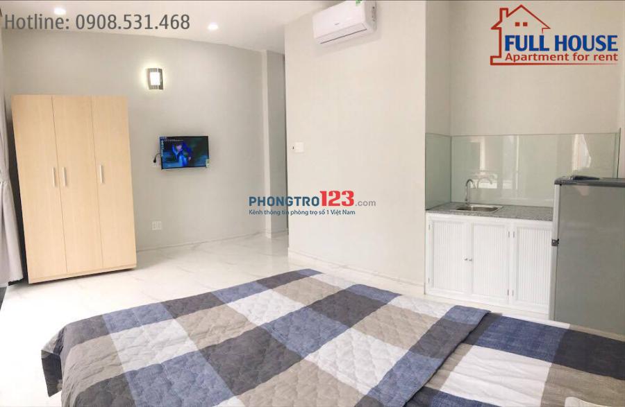Phòng đầy đủ nội thất tiện nghi Q7 - Mới 100% (gần PHÚ MỸ HƯNG)
